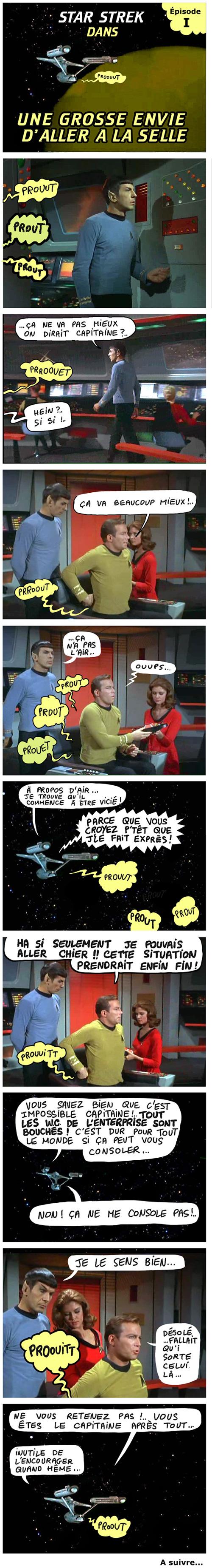 star trek - capitaine kirk fait caca 1