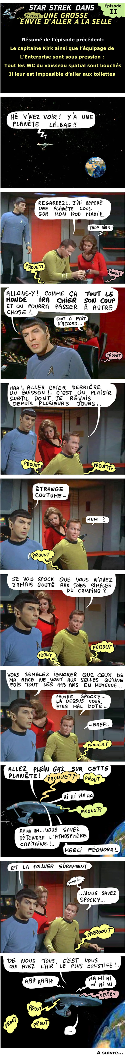 star treck - capitaine kirk fait caca 2